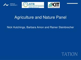 Agriculture and Nature Panel