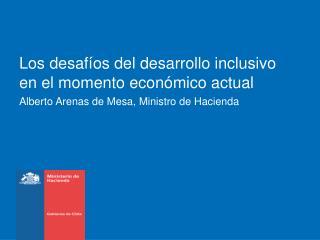 Los desafíos del desarrollo inclusivo en el momento económico actual
