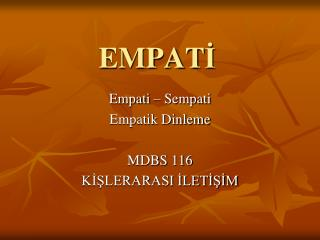 EMPAT ?