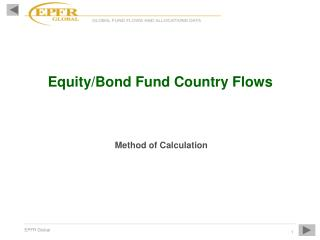 Equity/Bond Fund Country Flows