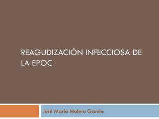 Reagudización infecciosa de la EPOC
