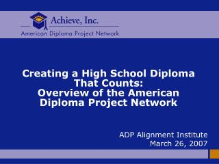 ADP Overview