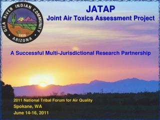 JATAP Joint Air Toxics Assessment Project
