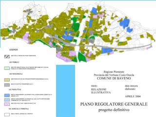 Lo strumento del piano regolatore generale: struttura e recenti sviluppi