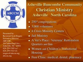 Asheville Buncombe Community Christian Ministry Asheville   North Carolina