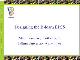 Designing the B-learn EPSS
