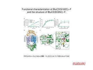 VM Korkhov  et al. Nature 000 ,  1-6  (2012) doi:10.1038/nature11442