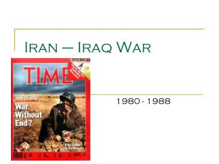 Iran � Iraq War