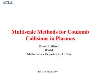 Multiscale Methods for Coulomb Collisions in Plasmas