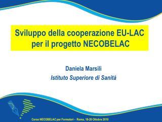 Sviluppo della cooperazione EU-LAC  per il progetto NECOBELAC