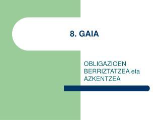 8. GAIA