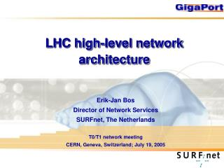 LHC high-level network architecture