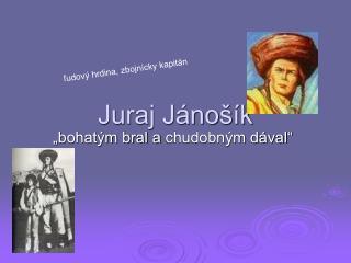 Juraj Jánošík