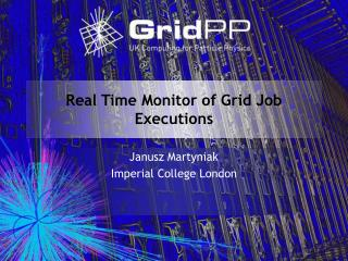 Real Time Monitor of Grid Job Executions