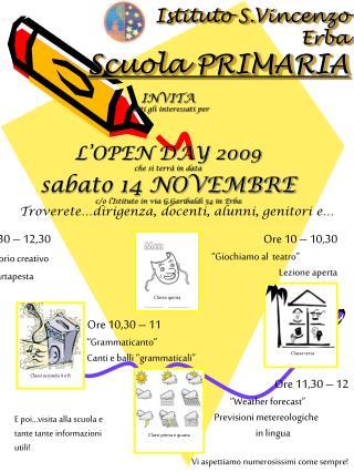 Istituto S.Vincenzo Erba Scuola PRIMARIA