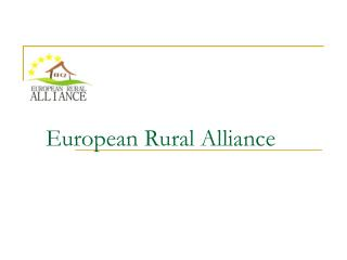 European Rural Alliance