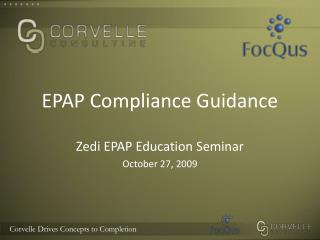 EPAP Compliance Guidance
