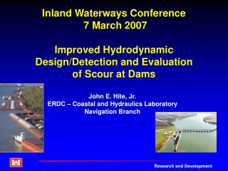 Inland Waterways Conference  7 March 2007