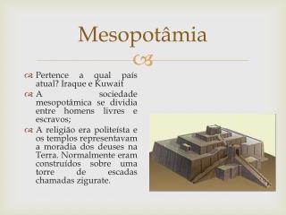 Mesopot�mia