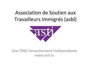 Association de Soutien aux Travailleurs Immigrés (asbl)