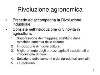 Rivoluzione agronomica