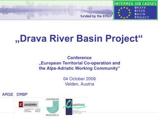�Drava River Basin Project�