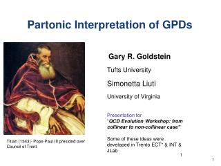 Partonic Interpretation of GPDs