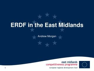 ERDF in the East Midlands