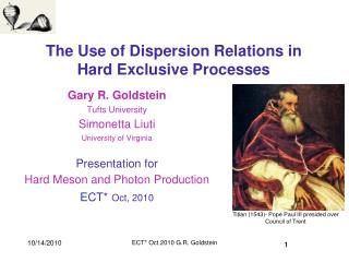 The Use of Dispersion Relations in  Hard Exclusive Processes