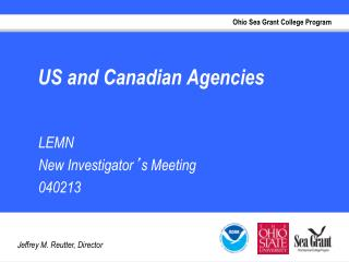 US and Canadian Agencies