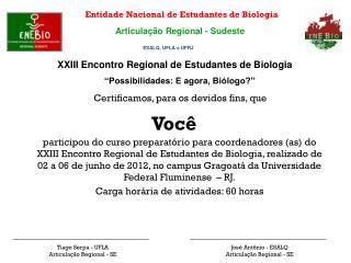 Entidade Nacional de Estudantes de Biologia