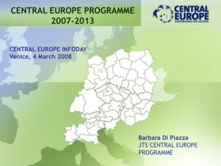 CENTRAL EUROPE PROGRAMME 2007-2013