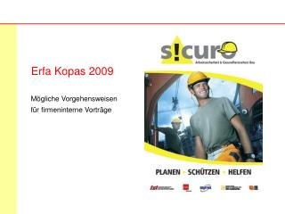 Erfa Kopas 2009