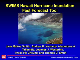 SWIMS Hawaii Hurricane Inundation Fast Forecast Tool