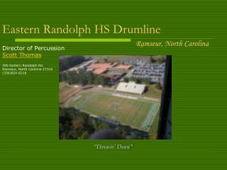 Eastern Randolph HS Drumline
