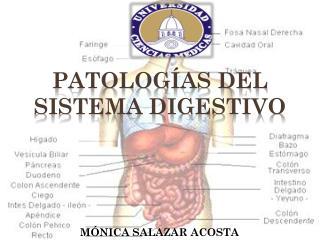 PATOLOGÍAS DEL SISTEMA DIGESTIVO