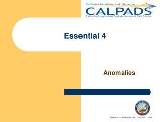Essential 4