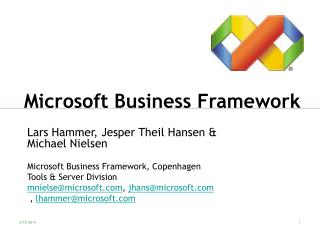 Microsoft Business Framework