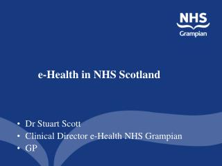 e-Health in NHS Scotland
