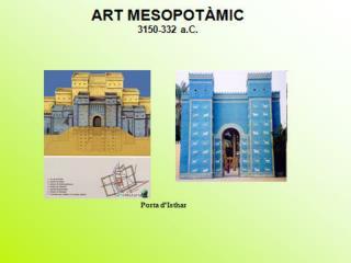 ART MESOPOT�MIC 3150-332 a.C.
