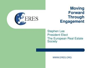 Moving Forward  Through  Engagement