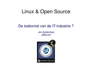 Linux & Open Source