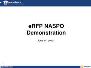 eRFP NASPO Demonstration