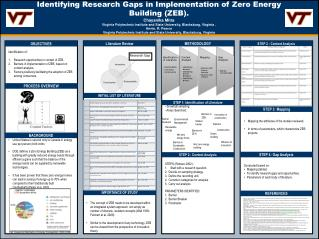 Identifying Research Gaps in Implementation of Zero Energy Building (ZEB).