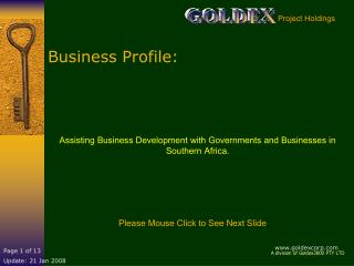 Business Profile: