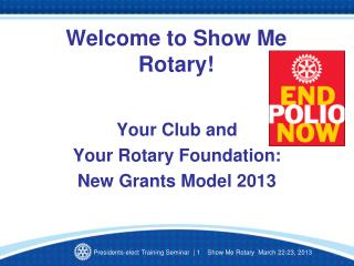 Welcome to Show Me Rotary!