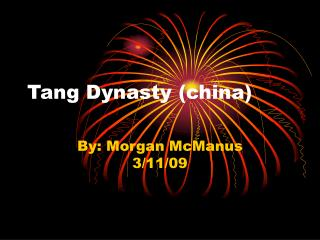 Tang Dynasty (china)
