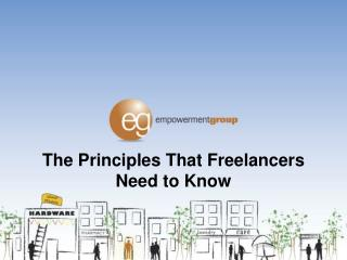 The Principles That Freelancers Need to Know