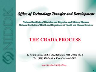 Office of Technology Transfer and Development