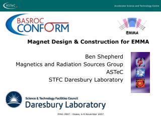 Magnet Design & Construction for EMMA